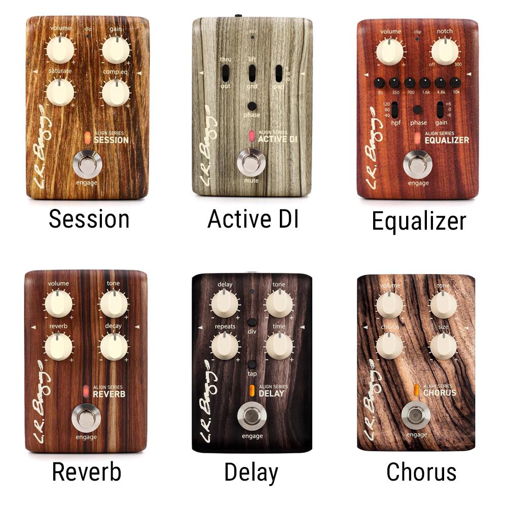 L.R. Baggs Align Series Acoustic Pedal Suite