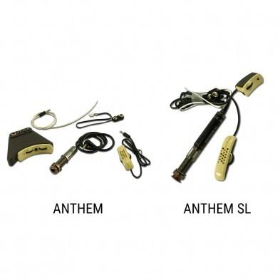 LR Baggs Anthem Acoustic Guitar TRUMIC Element Pickup No-Cut Preamp//Control Unit