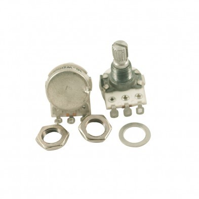 Cge Metric Mini Potentiometer With Short Bushing 500 Kohm