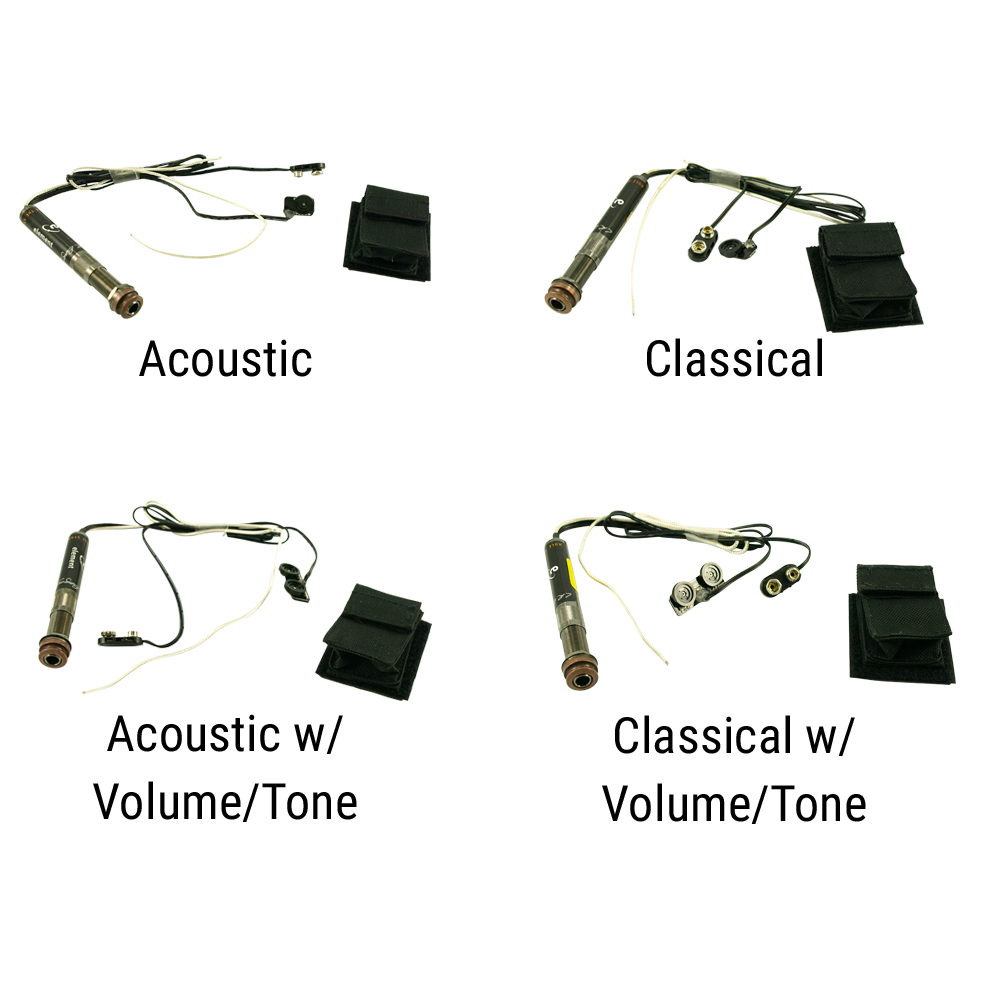 L.R. Baggs Element Active System Undersaddle Pickup For Acoustic Or Classical Guitar