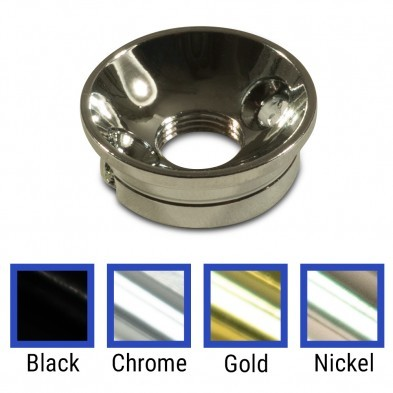 Recessed jack plate for Telecaster Tele electric guitar gold