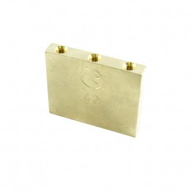 42 mm Floyd Rose Fat Brass L Shaped Tremolo Sustain Block