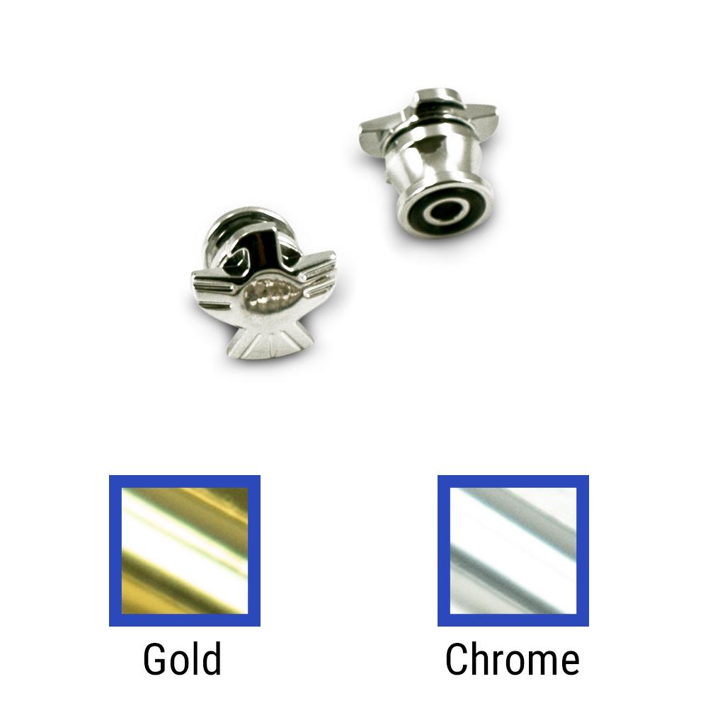 Grover Eagle Strap Button Set Of 2