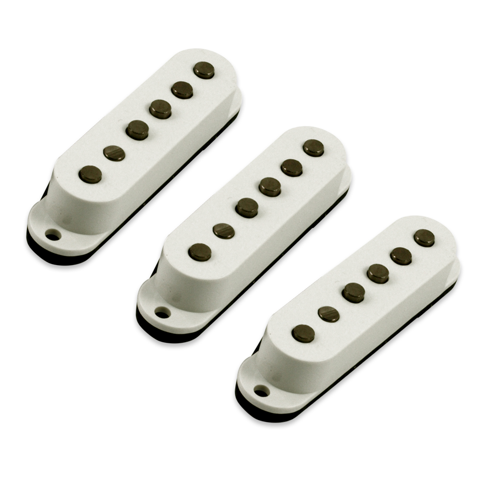 Kent Armstrong Handwound Series Tapped Single Coil Pickup Replacement Set For Fender Stratocaster