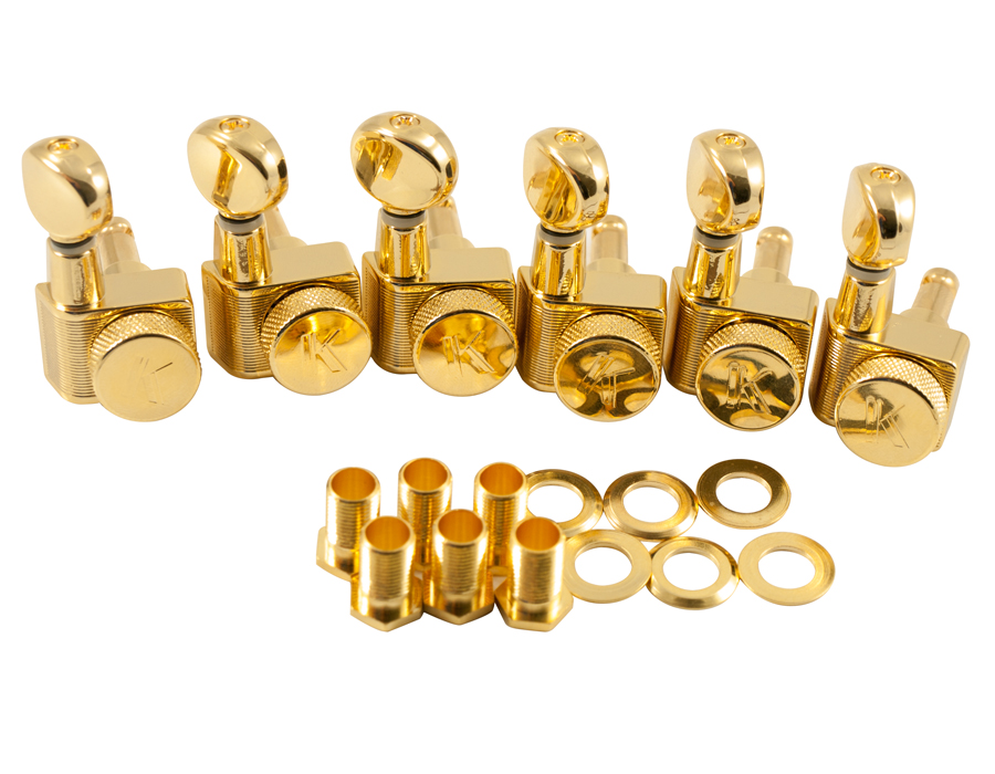 wd music products kluson locking tuners for fender 6 in line oval metal btn gold. Black Bedroom Furniture Sets. Home Design Ideas
