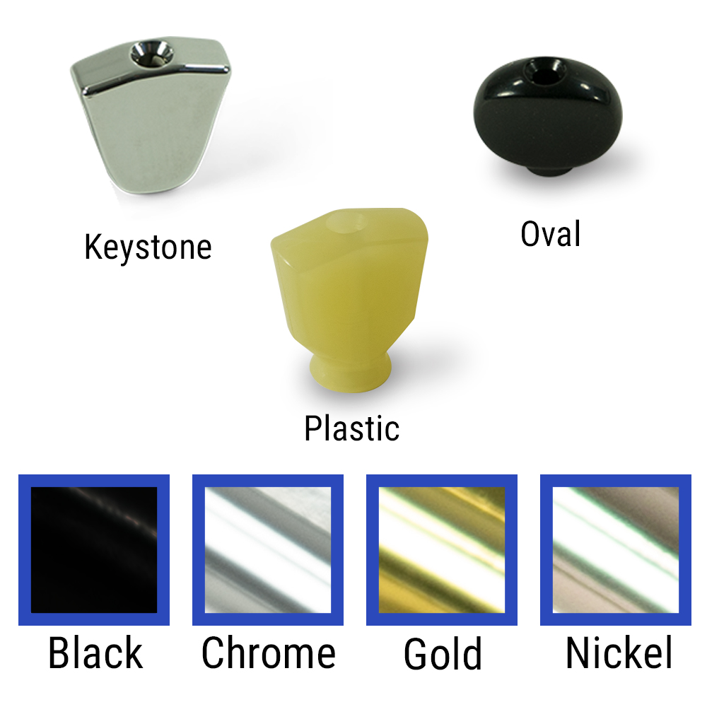Kluson Replacement Button Set For Revolution Series Tuning Machines