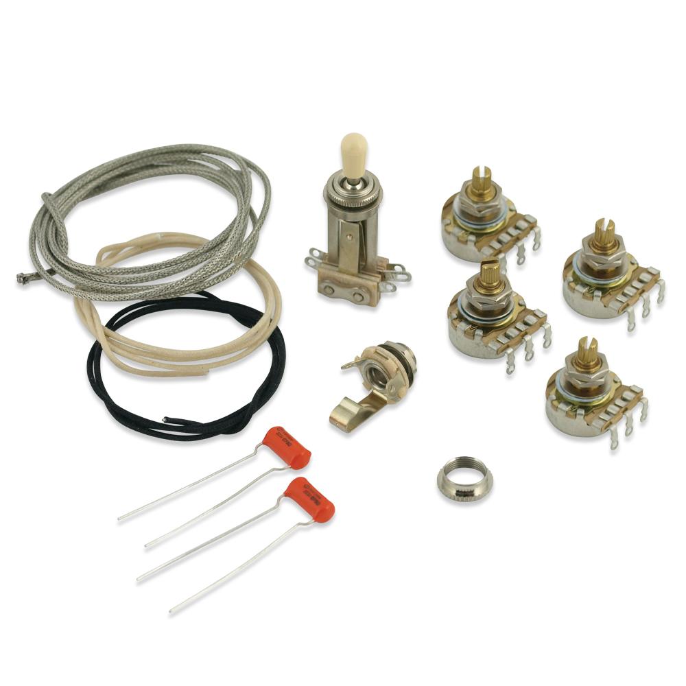 wd music products les paul wiring kit short rh wdmusic com