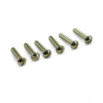 STRATOCASTER PICKUP PANHEAD SCREWS 6-32 X 3//4 GOLD 12 PACK