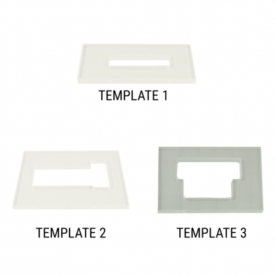 Wd Routing Template For Floyd Rose Tremolo Systems