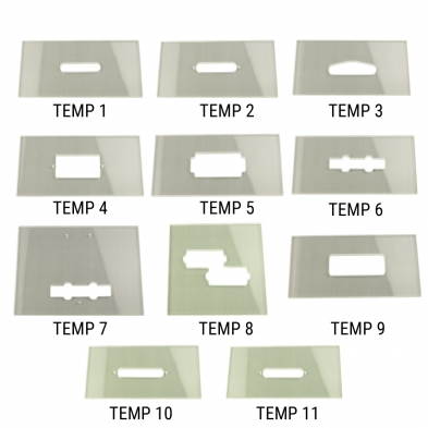 Wd Music Products Routing Template For Guitar Or Bass Pickups