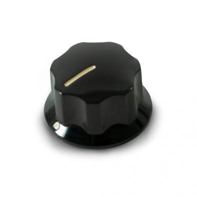 Fender Upper Concentric Knob For Deluxe Jazz Bass Black