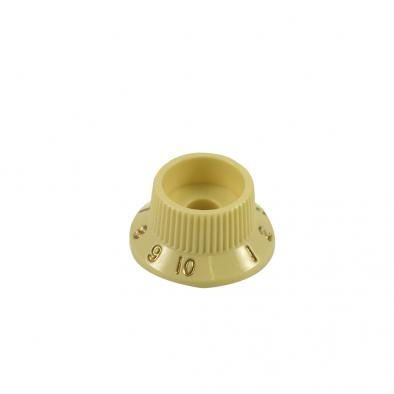 Fender® Stratocaster® S-1 Switch Knob Aged White (No Cap)