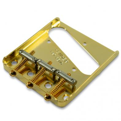 Fender® Original Series 3 Saddle Telecaster® Bridge Gold