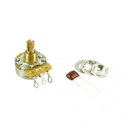 Fender No Load 250 kohm Split Shaft Potentiometer