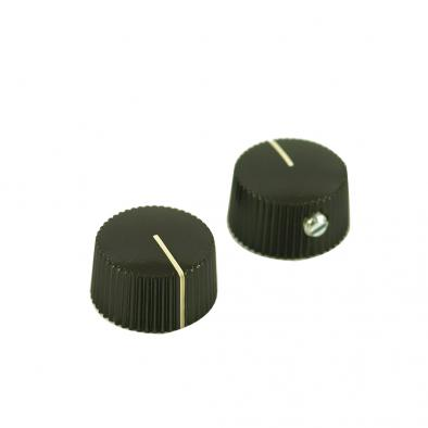 Fender Vintage Brown Amplifier Knobs