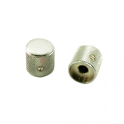Fender® Telecaster®/Precison Bass® Knob Set Chrome