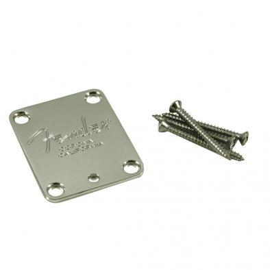 Fender® Stratocaster® Corona California Chrome Neck Plate