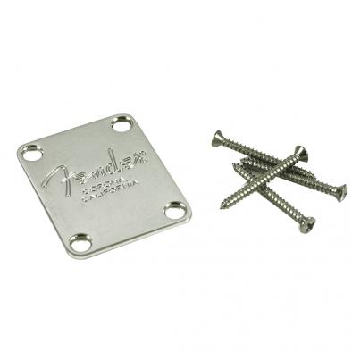 Fender® American Standard Bass Corona California Chrome Neck Plate