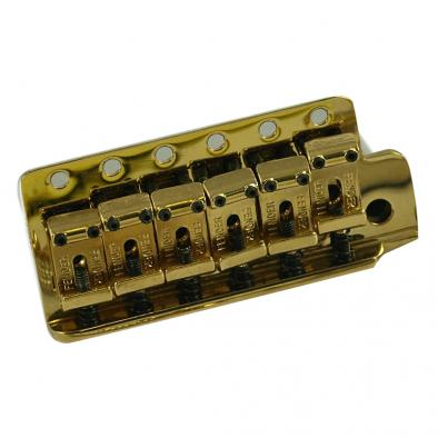 Fender® American Vintage Stratocaster® Gold Tremolo Bridge Assembly