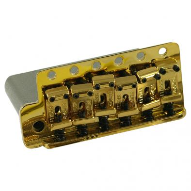 Fender® American Vintage Stratocaster® Gold Left Hand Tremolo Bridge Assembly