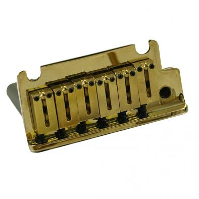 Fender® American Standard Stratocaster® Gold Tremolo Bridge Assembly