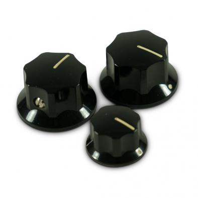 Fender® Pure Vintage 60's Jazz Bass® Replacement Knobs