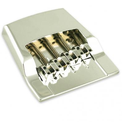 Hipshot® Aluminum 4 String Bass Bridge For Rickenbacker®