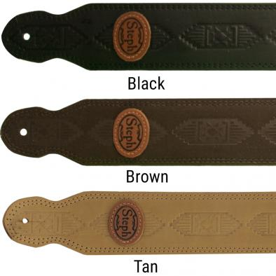 Steph® Nubuck Leather Handmade Strap