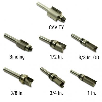 WD® Carbide Router Bits For Guitars