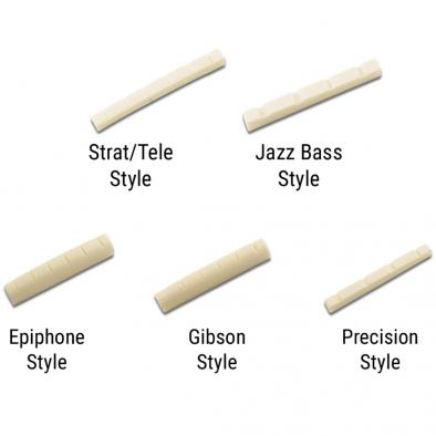 WD® Bone Guitar Nut Slotted