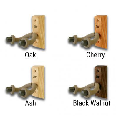 String Swing Hardwood Home and Studio Guitar Hanger