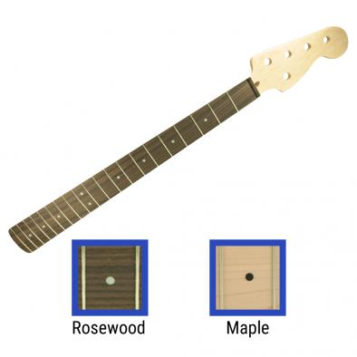 WD® Licensed By Fender® Replacement 20 Fret Neck For 5 String Precision Bass® Or Jazz Bass®