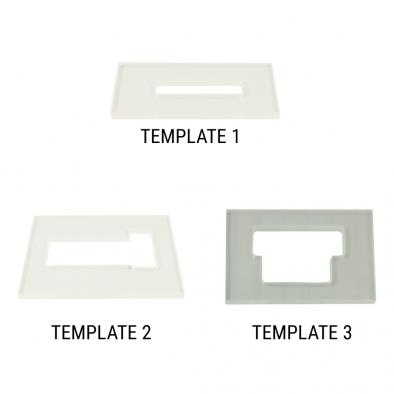WD® Routing Template For Floyd Rose® Tremolo Systems