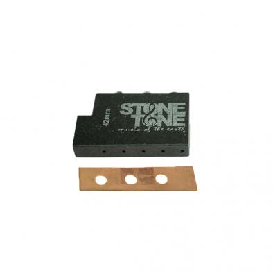 Stone Tone L Shaped Granite Rock Block For Floyd Rose Tremolos