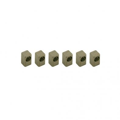 Floyd Rose Titanium String Lock Insert Block Set