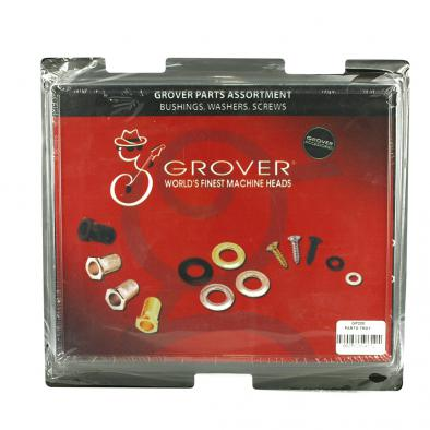 Grover Tuning Machine Parts Assortment With Bushings, Washers, & Screws