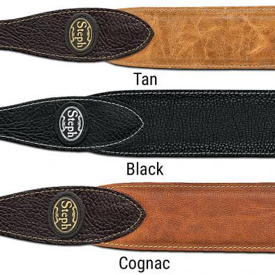 Steph® Padded Full Grain Cowhide Handmade Strap