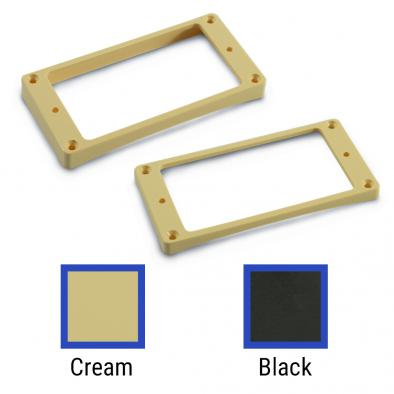 WD Plastic  Vintage Archtop Humbucker Pickup Mounting Ring