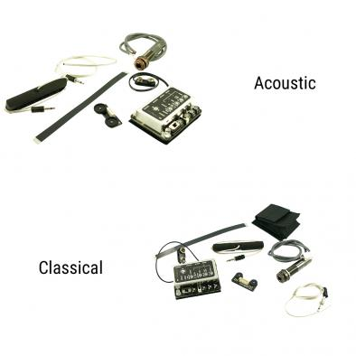 L.R. Baggs® iMix Element And iBeam Combination For Acoustic Or Classical Guitar