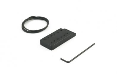 Kent Armstrong® Handwound Series Side Mount PAF Style 12 Pole Humbucker Pickup Black