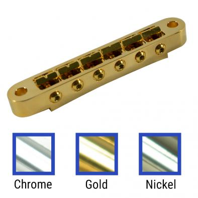Kluson USA Replacement Brass Nashville Tune-O-Matic Bridge