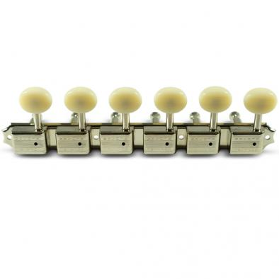 Kluson 6 On A Plate Left Hand Supreme Series Tuning Machines