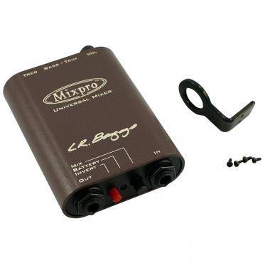 L.R. Baggs® Mixpro Dual Channel Beltclip Preamp