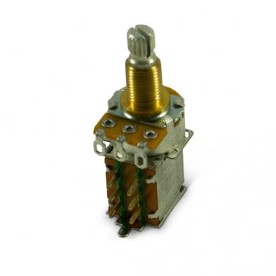 Alpha® Metric Potentiometer With Push-Pull DPDT Switch 25 kohm