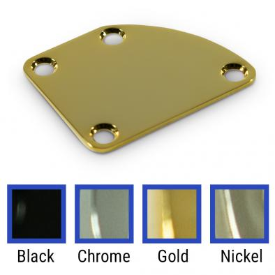 WD 4 Hole Neck Plate With Rounded Corner