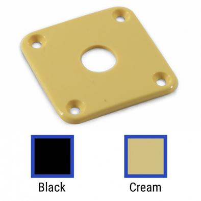 WD® Contoured Square Jack Plate For Gibson® Les Paul®
