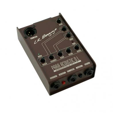 L.R. Baggs Para DI Acoustic Direct Box & Preamp With 5-Band EQ