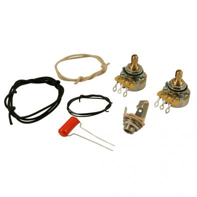 WD Upgrade Wiring Kit For Fender Precision Bass Style Basses