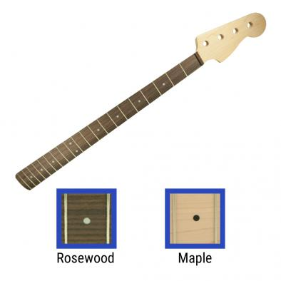 WD® Licensed By Fender® Replacement 20 Fret Neck For Precision Bass®