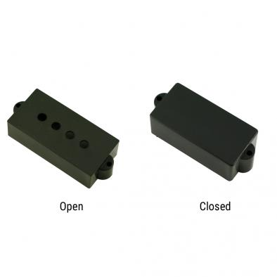 WD® Replacement Pickup Cover Set For Single Split Pickup For Fender® Precision Bass®